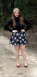 Floral Skirt (Ross, Trendyland Brand, $10?)